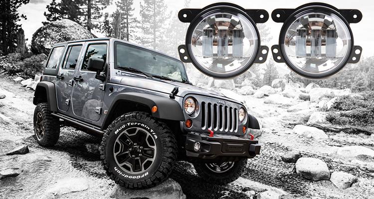 jeep挅ce�^h�^K�p_auto part accessories 4 inch fog light, chrome fog light jeep