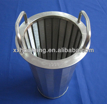 Stainless Steel Wedge wire screens filtration parts