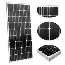 1 kw solar panel; 10 pcs of single crystal 100 watt solar panel