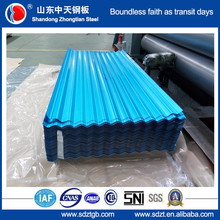 z40-160g colored metal roofing tile G550 Full hard