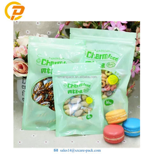 Top Grade Customized Printing 3 Side Sealing Food Pack Resealable Bag