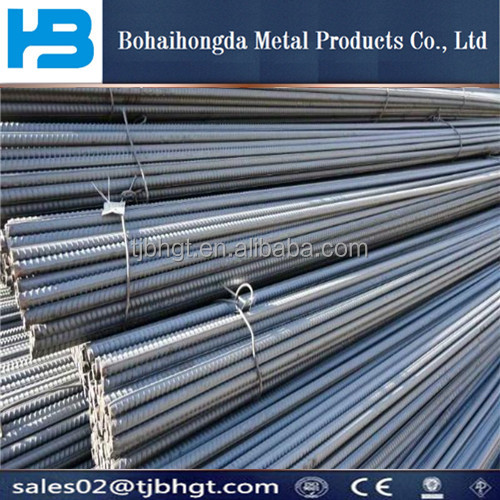 H13 Steel /Steel Rebar Manufacturer in Uae 6mm-45mm GB ASTM BS4449 rebar deformed bar reinforcing steel