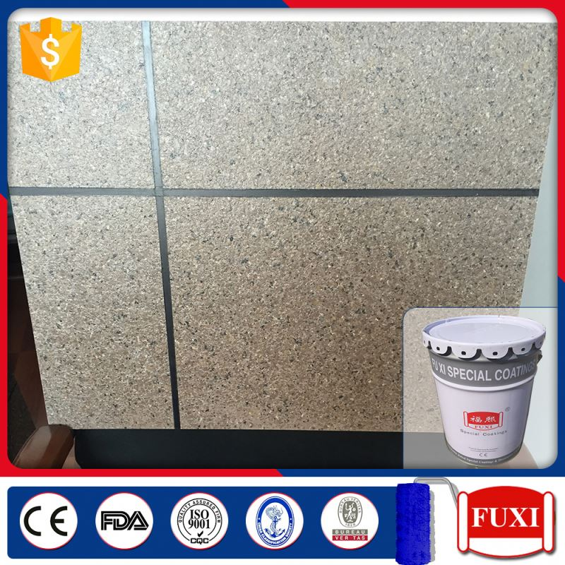 Colorful Granite Coating Stone Spray Exterior Wall Paint