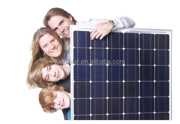 popular style for 160W mono solar panel, solar system,solar panel controller