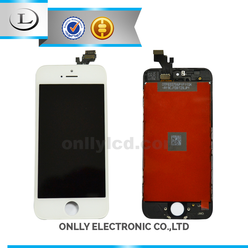 China Top Number One Lcd touch screen for iphone 5g, for iphone 5g front glass lcd