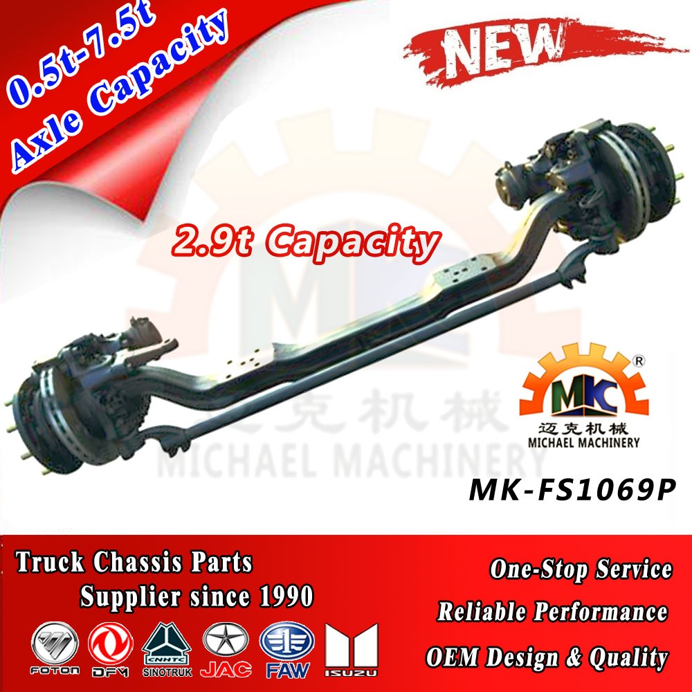 Steerable Front Axle for Korea Daewoo Truck