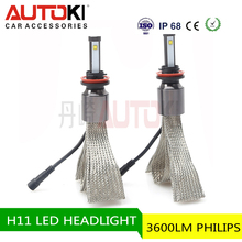 Best Price 2016 new h11 led head lamp and h8 h9 h11 h4 h7 led headlight bulb 9005 9006 auto car led headlight