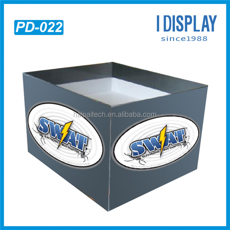 corrugated retail pampers cardboard pallet display Stands For daily use