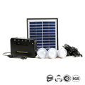 Hot Sell Home Application 3*1W led Energy Home Lighting System With Mobile Charging