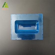Blue Plastic Medicine Bottle PVC PET Tray