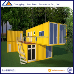 Mordern Luxury Movable Container House for Office Camp