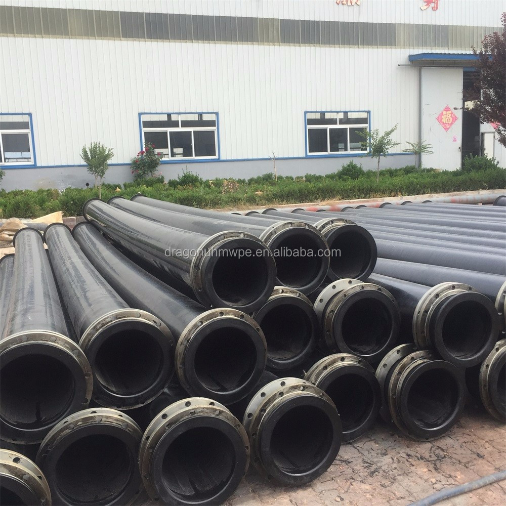 ultra polyethylene water supply uhmw-pe discharge pipe