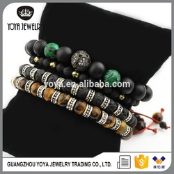 fashion beaded men bracelet