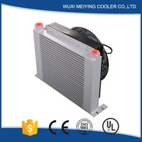 Serviceable with high quality hydraulic power unit aluminum plate-fin type heat exchanger