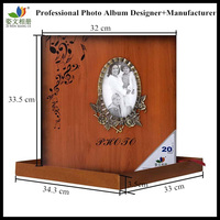Popular 12x12 wooden photo albums Egypt wedding album wholesale available in stock
