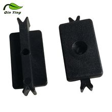 Modern Professional Reasonable Price WPC Decking Accessories Plastic Clips