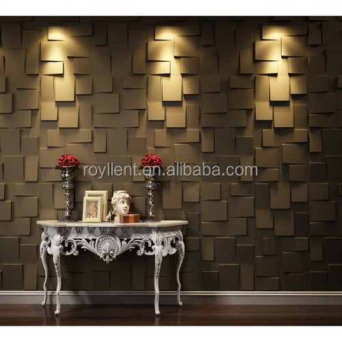 Hot sell durable interior bamboo 3D wallpaper