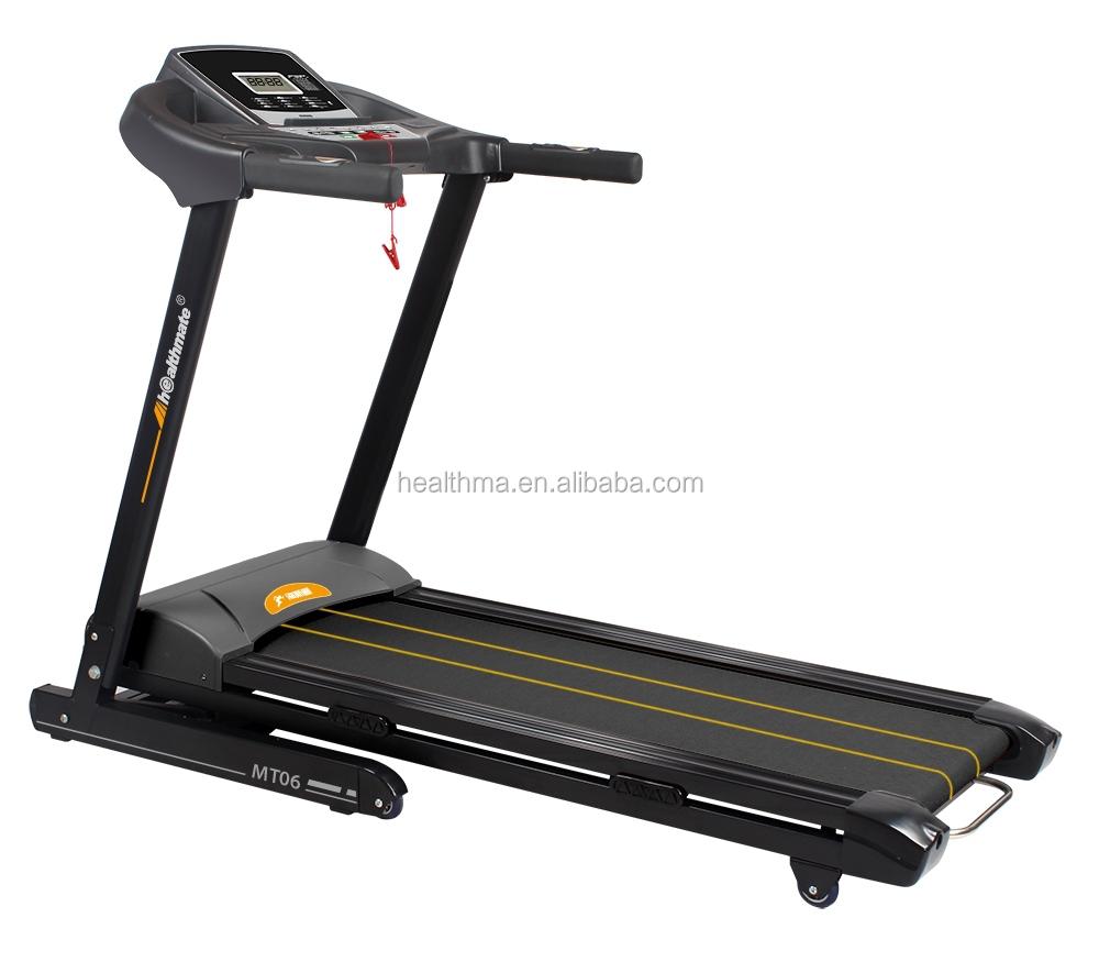 Home using motor motorized treadmill ce certificate for Treadmill 2 5 hp motor