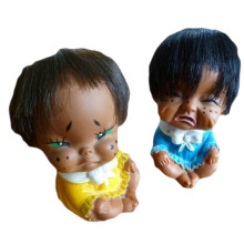 Vintage Japanese set cry babies black crying baby dolls