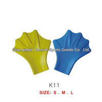silicone swimming fins for hands silicone sailor webbed palm flying webbed gloves