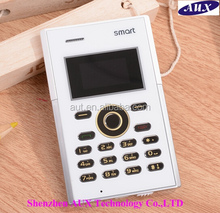 2015 Mini Card Mobile Phone, Low Radiation Bluetooth GSM Phone S3