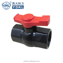 High Quality Pvc Thread Mini Plastic Valve Ball
