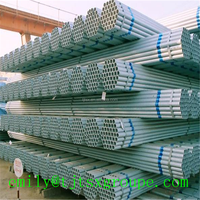 High Quality With Zn Coating 80-500g/m2 Galvanized Steel Tube/Pipe