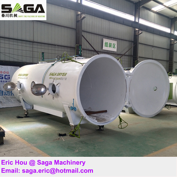 3 CBM Radio Frequency RF Vacuum Wood Drying Kiln for Sale from Saga Machinery