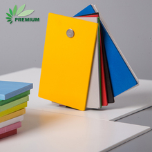 Factory Direct pvc expanded foam board crust color