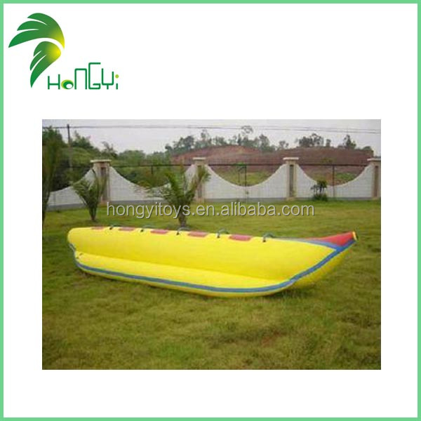 Eco-Friendly PVC CE Certification Inflatable Water Games Flyfish Banana Boat