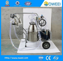 Single cow portable milking machine / cow milker/sheep cow milking machine