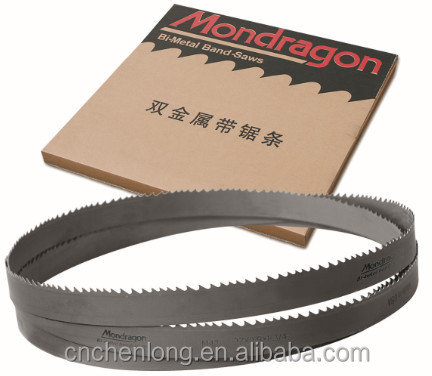 High quality bi metal band saw blade for band cutting machine