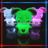 GIFT130 Lovely Rabbit baby night light with music
