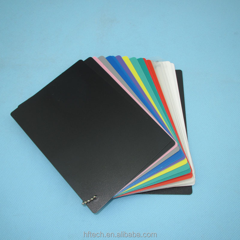 Best Quality Plastic die cut pp sheet, 1MM polypropylene pp sheet,color PP Thin sheet