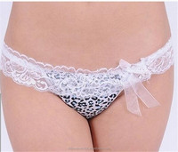 Elastic mature women thongs new design women sexy mature lycra lace underwear