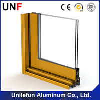 Easy and assembly aluminium profile for window and door frame