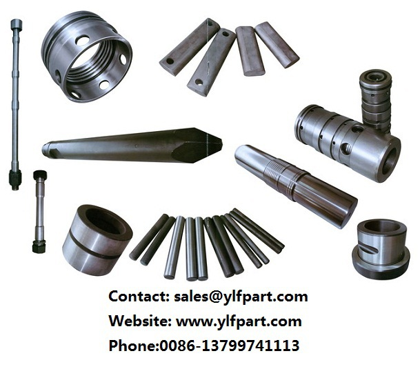 furukawa hydraulic breaker aftermarket parts cylinder front head back head piston chisel seal kits front cover through bolt bush