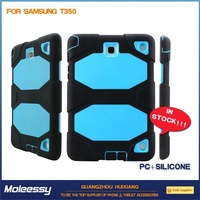 hot sale blue silicone case for samsung galaxy tab 3 tablet 3 7.0