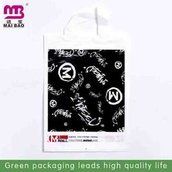 Manufacturer wholesale gravure printed photo printing biodegradable loop handle bag