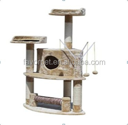 Good Quality Multi-Level Cat Tree Scratching