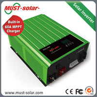 PH3000 Dc to Ac 48v 3kw Off-grid Solar Power System Inverter with 60A MPPT Solar Charge Controller