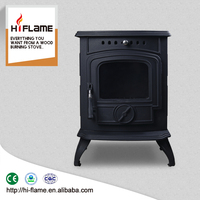New product freestanding mini wood burning heater and indoor wood fire place HF332