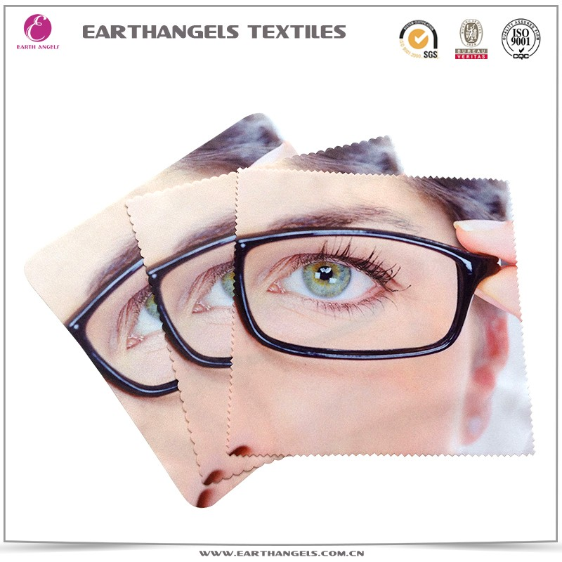 Custom Print Microfiber Glasses/Eyeglass/Lens Cleaning Cloth