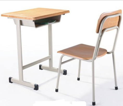 School Desk and Chair Modern Primary School Furniture MDF School Sets