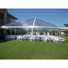 High quality mixed outdoor transparent marquee party wedding tent with banquet tables and chairs