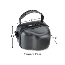 Durable minni camera Compact System Camera Case with Adjustable Shoulder Strap