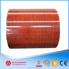 Popular Africa Red color glazed roofing tiles Aluminum galvanized iron sheet roofing ppgi steel coils