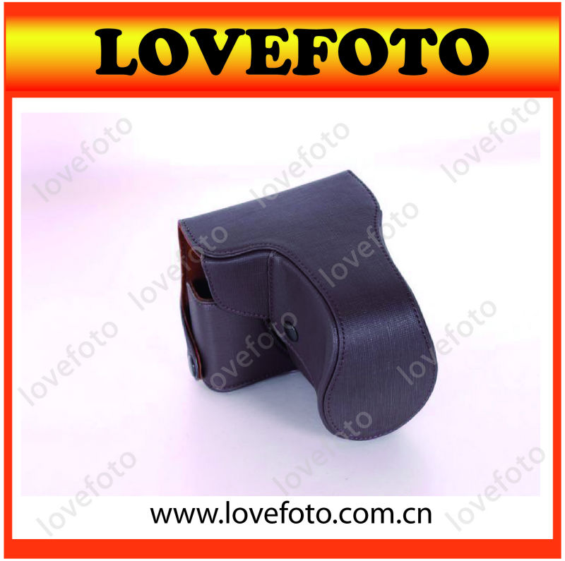 Soft PU Leather Camera Case for Nikon V1 DSLR Shape