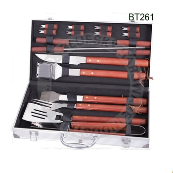 Outdoor bbq tool with Aluminium case Barbecue BT261