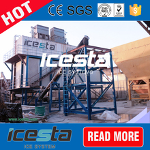 ICESTA flake ice machine for ready mixed concrete